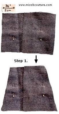 barbie mini skirt pattern