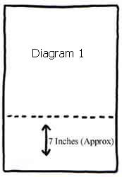 cutlery roll diagram