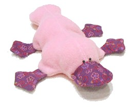 Free Sewing Pattern Soft Toy Platypus