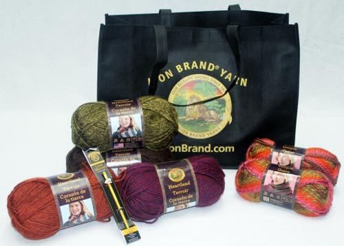 Lion Brand Crochet Gift Set