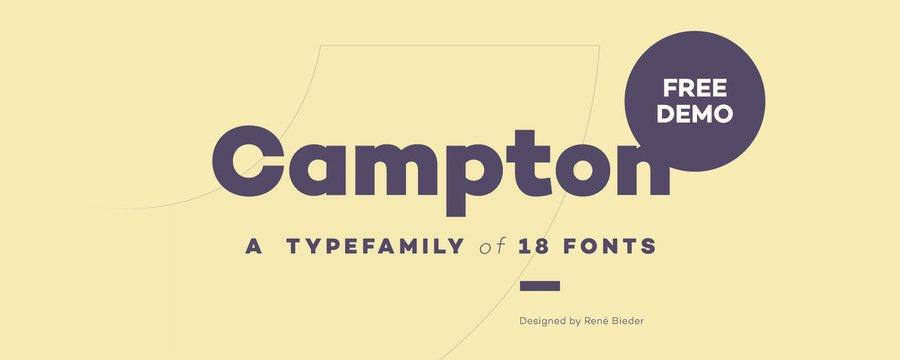 Campton Font - All Free Fonts