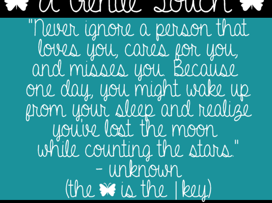 A Gentle Touch font