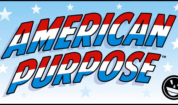 American Purpose font