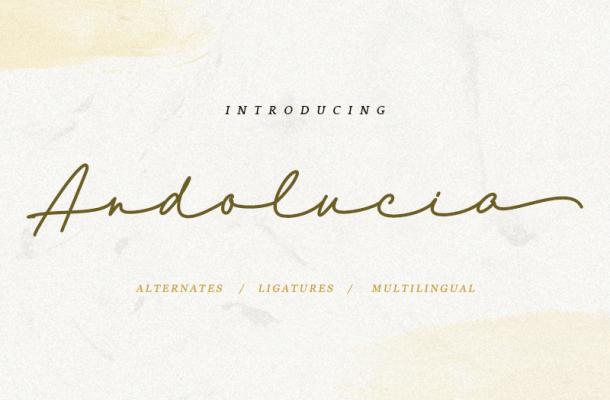 Andolucia font