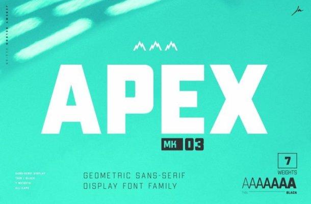 Apex Mk3 Font Family