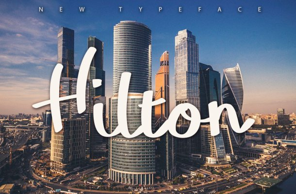 Hilton Typeface