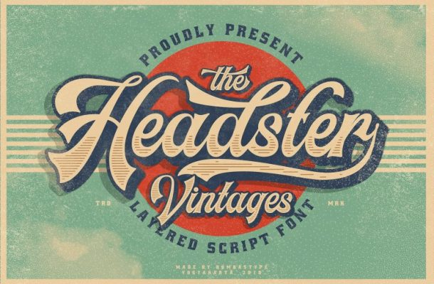 Headster Typeface