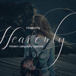 Heavenly Script Font