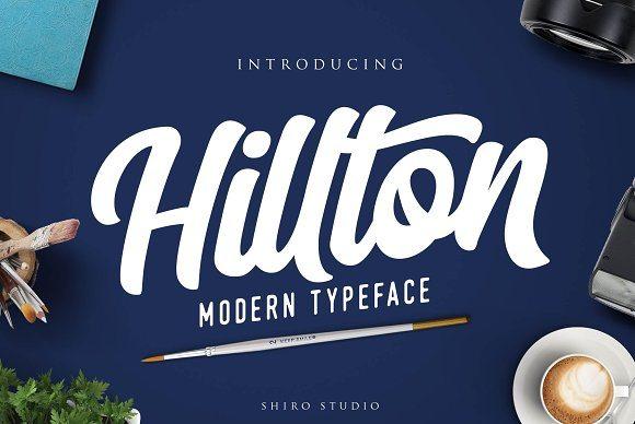 Hilton Script Font