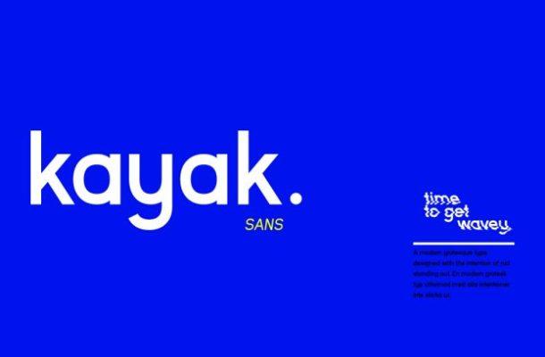 Kayak Sans Typeface