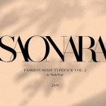 Made Saonara Serif Font