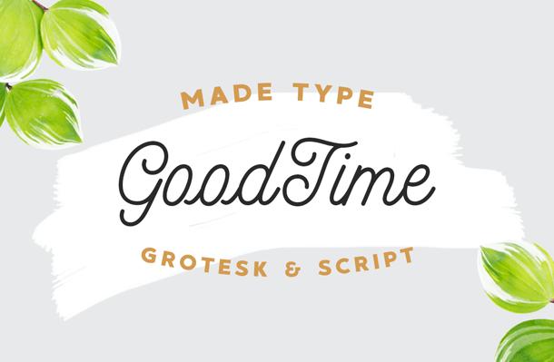 MADE GoodTime Grotesk font