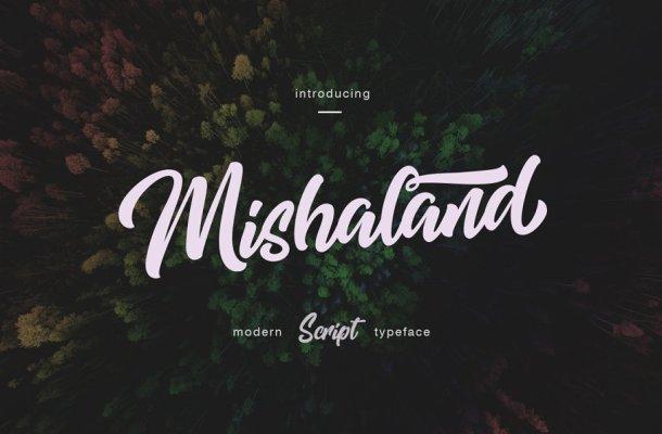 Mishaland Typeface