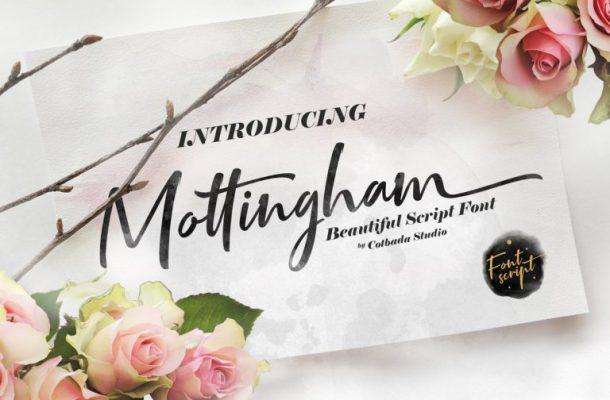 Mottingham Script Font