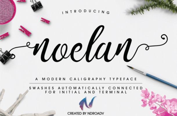 Noelan Script Font