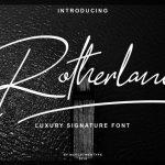 South Walles Signature Font - All Free Fonts