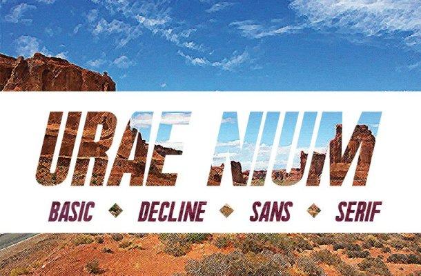 Urae Nium font