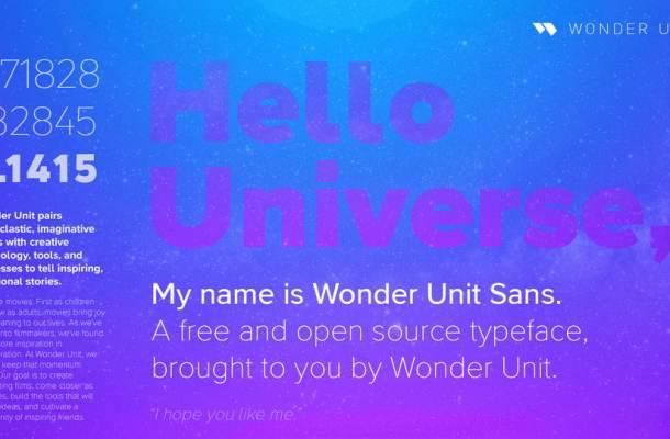 Wonder Unit Sans Font Family