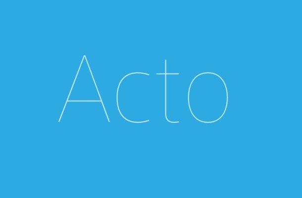 Acto Font Family