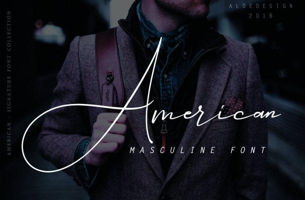 American Signature Font
