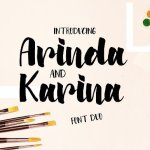 Arinda Brush Font