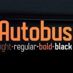 Autobus Font Family