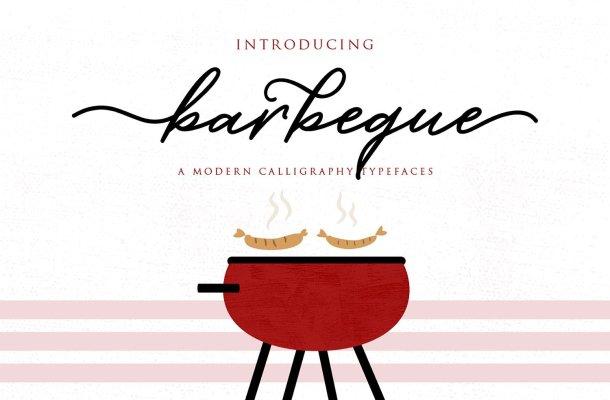 Barbeque Script Font
