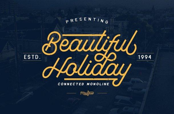 Beautiful Holiday Font