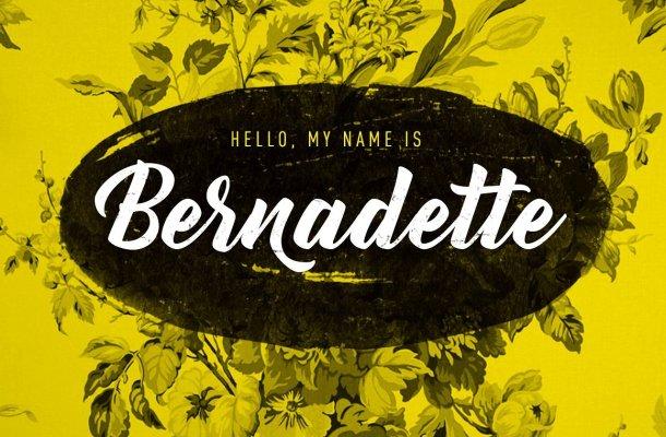 Bernadette Script Font