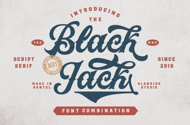 Black Jack Font