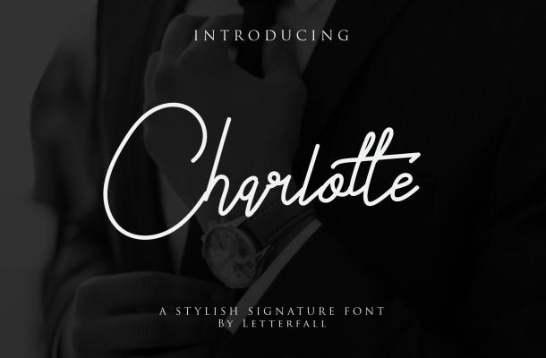 Charlotte Signature Font