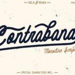 Contraband Script Font