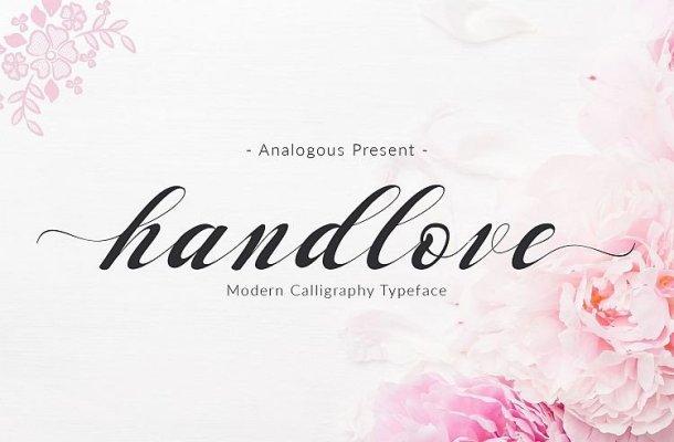 Handlove Script Font