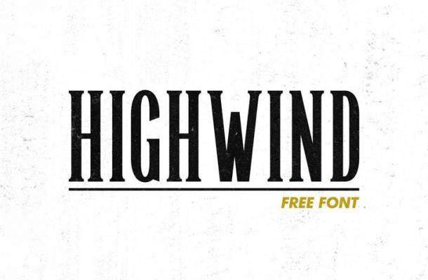 Highwind Typeface