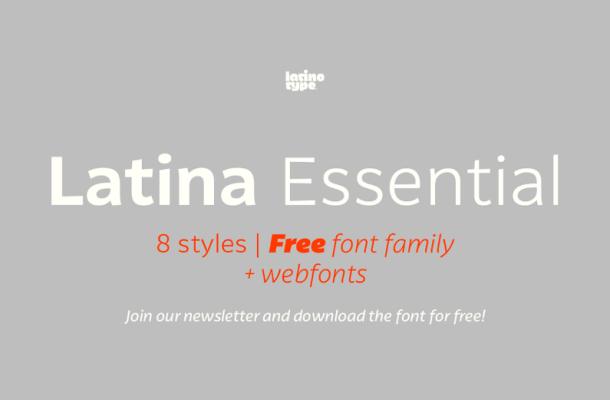 Latina Essential Font Family