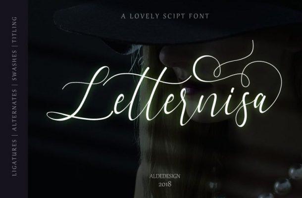 Letternisa Script Font