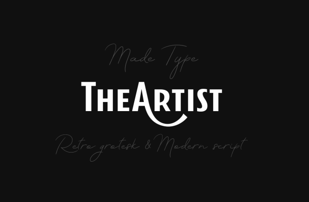 TheArtist Duo Fonts