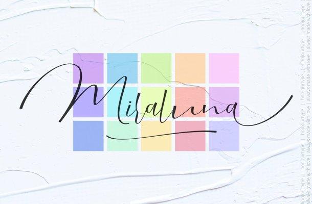 Miraluna Script Font
