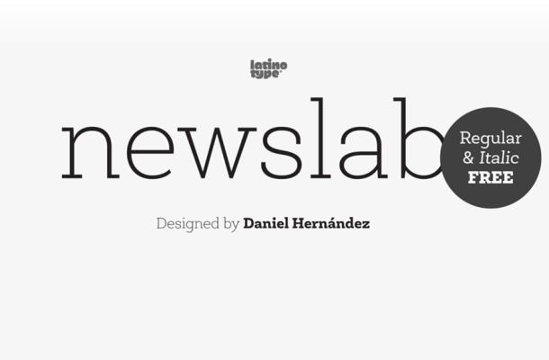 Newslab font family