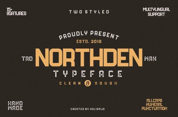 Northden Typeface