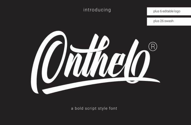 Onthel Script Font