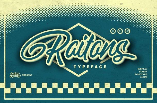 Raitons Script Font