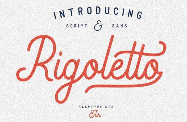 Rigoletto Script Font
