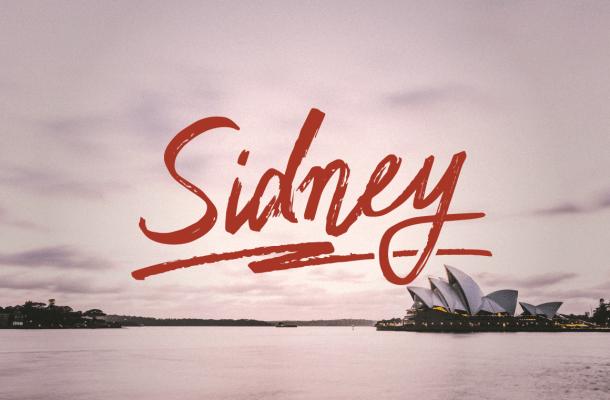 Sidney Script Font