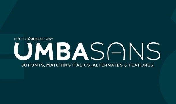 UMBA Sans Font Family