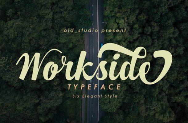 Workside Script Font