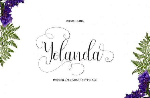 Yolanda Script Font