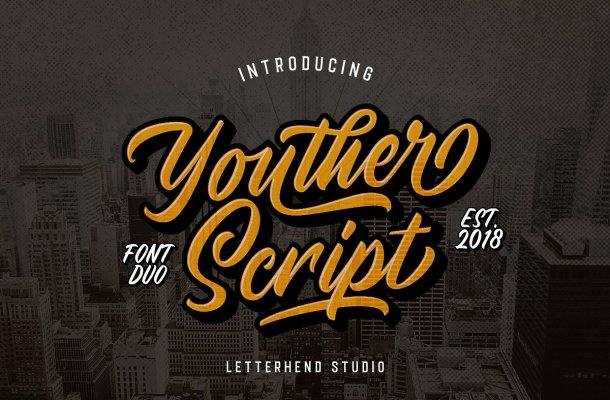Youther Script Font