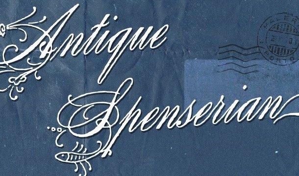 Antique Spenserian Font
