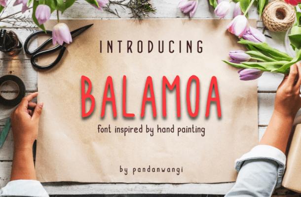 Balamoa Font Family